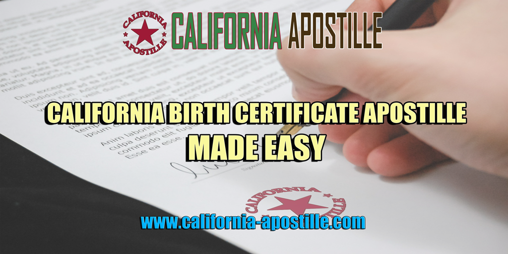 Your diy guide to get a birth certificate apostille in california yelopaper Gallery